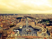 Shelley Smith - View of Rome from...