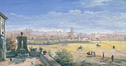 Italian Landscape Art - View of Rome by Gaspar van Wittel