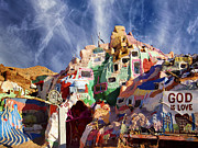 Dominic Piperata - View of Salvation Mountain