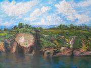 Sausalito Painting Prints - View of Sausalito Print by Robert DImperio