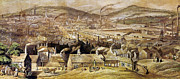 View Of Sheffield England Print by Granger
