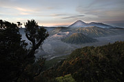 Dray Van Beeck - View of the Bromo valley...