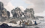 View Of The Castle Rock Print by J. & Ibbetson, J.C. Hassell