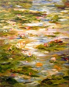 Barbara Pirkle - View of the Lily Pond
