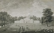 View Of The Palace At Kew Print by John Joshua Kirby