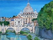 Teresa Dominici - View of the Vatican City...