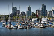 Randall Nyhof - View of Vancouver Harbor from Stanley Park No. 0674