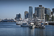 Randall Nyhof - View of Vancouver Harbor from Stanley Park No. 0805