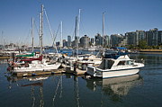 Randall Nyhof - View of Vancouver Harbor from Stanley Park No. 0809
