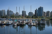 Randall Nyhof - View of Vancouver Harbor from Stanley Park No. 0900