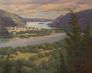 Marianne  Kuhn - View of West Point and...