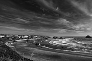 Beach Photograph Posters - View over Bandon Poster by Andrew Soundarajan