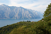 Nick  Biemans - View over the Lake Garda in Italy