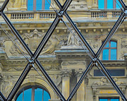 Louvre Digital Art - View through the Louvre by Mac Titmus