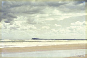 Beach Scenery Prints - View to Barwon Heads Print by Linda Lees