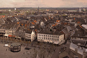 Limburg Paintings - View to the East in Maastricht by Nop Briex
