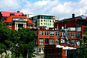 Asheville Photos - View Towards Lexington Avenue in Asheville by Utopia Concepts