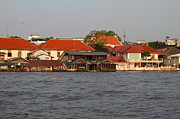 Bangkok Photos - Views from a river boat taxi in Bangkok Thailand - 011329 by DC Photographer