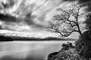 Highlands Of Scotland Prints - Views from Balmaha Pier Print by John Farnan