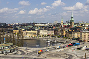 Views Of Stockholm 18 Print by Glenn Monie