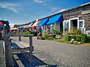 Lbi Prints - Viking Village Print by Mark Miller
