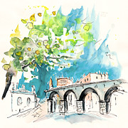 Architecture Drawings - Vila do Conde 15 by Miki De Goodaboom