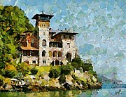 Cities Prints - Villa La Gaeta Print by Dragica  Micki Fortuna