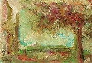 Impressionist Mixed Media - Villa by Mary Wolf