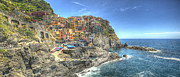"""sunset Photographs"" Prints - Village of Manarola Print by Alex Dudley"
