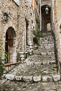 Saint Paul De Vence Framed Prints - Village of Saint Paul de Vance Framed Print by John Greim