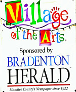 Village Of The Arts Print by Forever  Art