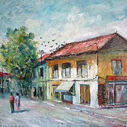 Faruk Koksal - Village Road in the...
