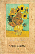 Vincent Van Gogh 2 Print by Andrew Fare