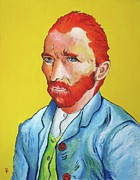 Masterpiece Mixed Media Prints - Vincent Van Gogh Print by Venus
