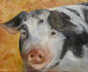 Cheri Wollenberg - Vindicator Pig Painting