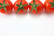 Simon Bratt Photography LRPS - Vine tomatoes on top edge copy space