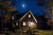 New England Architecture Photos - Vineyard Bungalow by John Greim