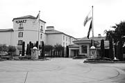 Wingsdomain Art and Photography - Vineyard Creek Hyatt Hotel Santa Rosa California 5D25787 bw