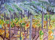 Colourfull Originals - Vineyard IIi by Maia Oprea