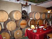 Vineyards In Va - 121226 Print by DC Photographer