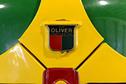 Name Prints - Vintage 1950 Oliver Tractor Emblem Print by Paul Ward