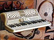 Vintage Accordion Print by Chris Anderson