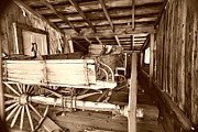 Miners Ghost Photos - Vintage Barn Finds by Cheryl Young