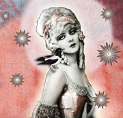 Ziegfeld Girl Prints - VINTAGE BEAUTY Marion Benda Print by Carolyn Slattery