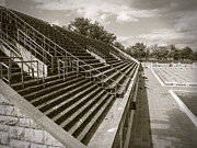 Art Photography Prints - Vintage Berlin Olympic SwimmingStadium Print by Art Photography