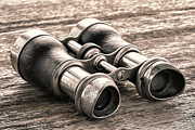 Artifact Photos - Vintage Binoculars by Olivier Le Queinec