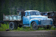 Randall Nyhof - Vintage Blue Chevrolet Pickup Truck
