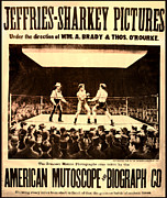 Boxing  Prints - Vintage Boxing Movie Poster Print by Digital Reproductions