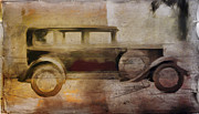 Runner Boards Digital Art - Vintage Buick by David Ridley