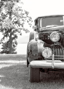 Edward Fielding - Vintage Caddy Automobile Black and White